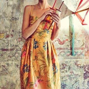 Anthropologie Botanica  James Coviello Dress-
